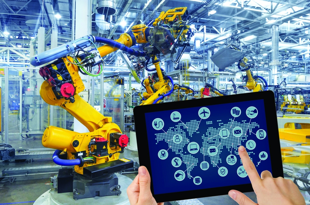 Processo de automação industrial